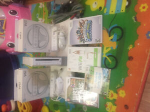 Wii, wii fit +more