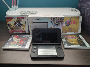 Nintendo 3DS XL Mario & Luigi Edition + 4 Games