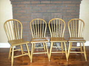 Antique Hoop Back Chairs
