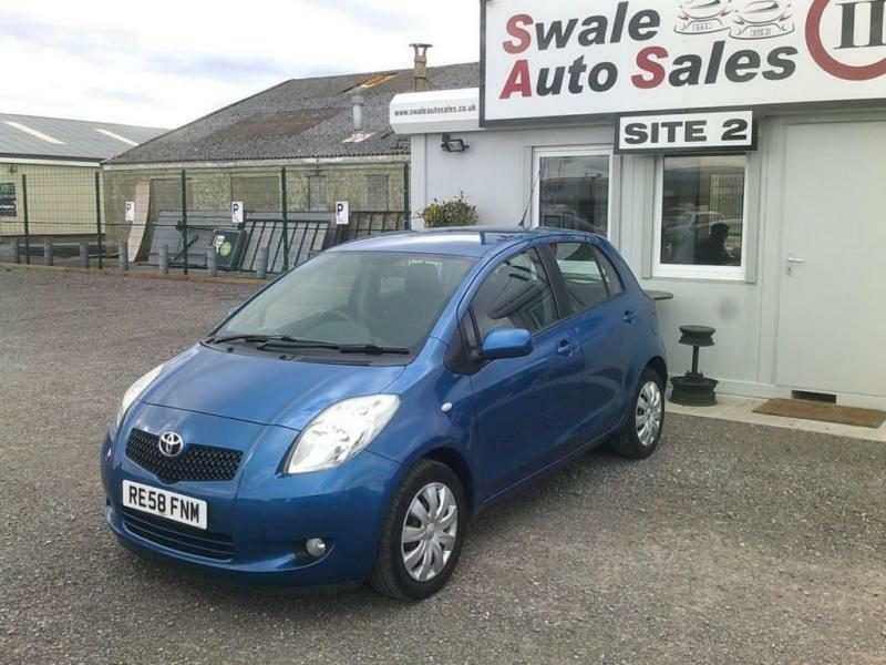 2008 TOYOTA YARIS T3 VVT-I 1.3L - 86697 MILES - IDEAL FIRST CAR - LOW INSURANCE