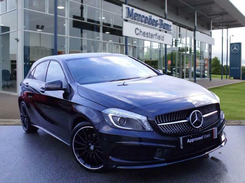 2015 mercedes benz a class a200 cdi amg night edition 5dr auto automatic hatchba in. Black Bedroom Furniture Sets. Home Design Ideas