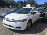 2009 Civic 4 Door ((ONLY 49XXXkm)) NEW MVI Call or text 209-9180