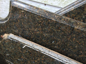 Several Gorgeous REAL Granite Countertop Slabs Scrap Remnant