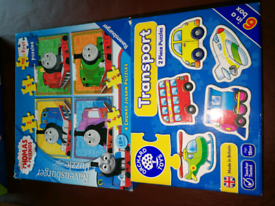 My first Thomas puzzle and orchard transport puzzle