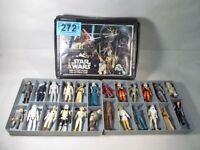 collectable star wars figures with case