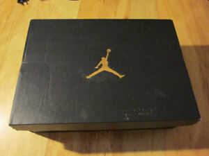 NIKE Air Jordan Jumpman Black Shoe Box BOX ONLY