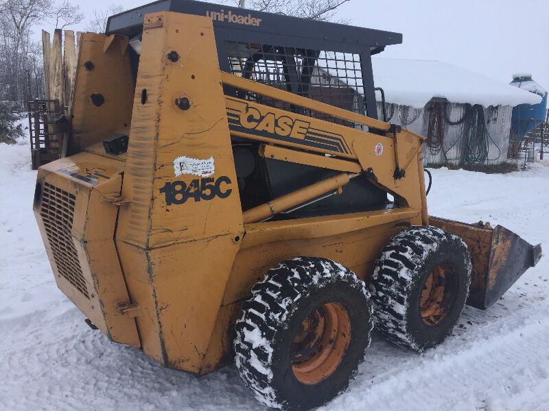 Skid steer case1845c farming equipment red deer kijiji for Case kijiji