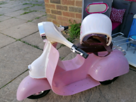Our Generation Moped and Helmet