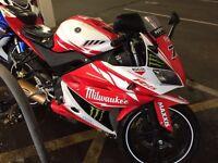 Milwaukee 125 race rep yammaham yzfr125