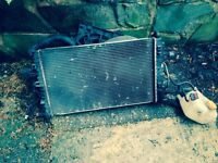 Vauxhall Astra MK5 Radiator Inc Fan