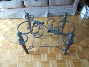 table basse ovale / negotiable