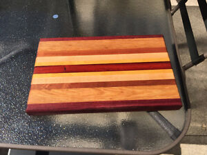Solid Exotic Wood Cutting Boards