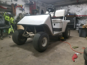 Electric 85 ezgo golf cart/poor mans sxs