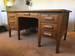 Real Wood Desk - Very High Quality