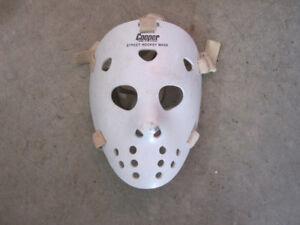 vintage cooper street hockey goalie mask