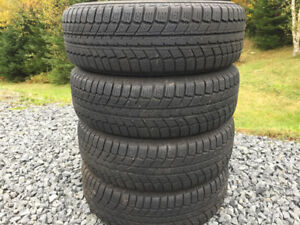 Four 205/70R15 Winter Tires