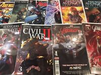Marvel comics avengers civil war new avengers comic books
