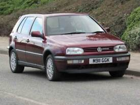 1995 Volkswagen GOLF 2.8l VR6, only 1 owner from new