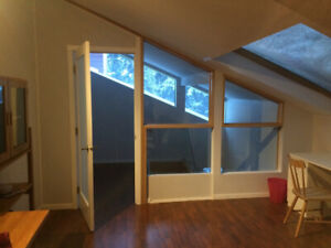 Private spacious loft in beautiful house for rent Cougar Creek