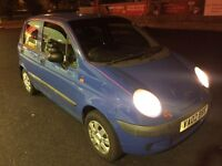 Daewoo Matiz 800cc 5 door Low Mileage 64k