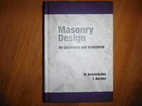 Canadian Masonry Design for Engineers and Architects 2005