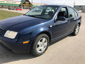 2002 Volkswagen Jetta 2.0L 145 k Saftied NO RUST CLEAN TITLE