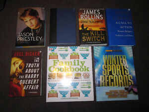 Current Books - NEW, Sold on Choice ... $6.00 each