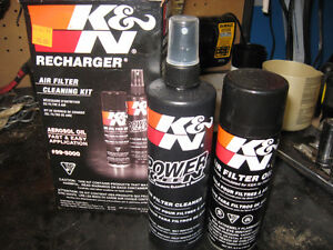 K&N AIR FILTER CLEANING KIT BRAND NEW