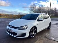 2014 63 VW GOLF GTD DSG SAT NAV LOW MILES ++ not golf R 335d, Audi S3,
