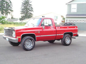 Looking for a clean square body 4x4