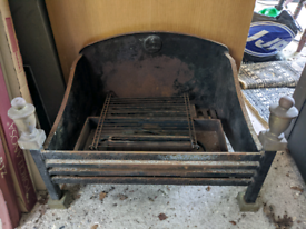 Cast iron - fire place