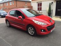"""PRICE REDUCED""Peugeot 207 Verve Hdi 70 Diesel 1.4 P.Servic Histry 1 owner hpi clr £30 road tax a yr"