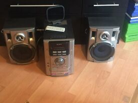 SONY HIFI WITH REMOTE
