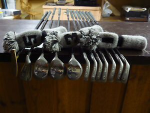 GOLF CLUBS , BAG AND CART