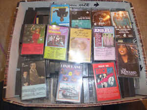 More than 200 cassette tapes (mostly POP music)