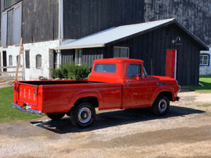 1959 Ford F100, Full restored/original - Excellent/Certified