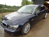 BMW 760 6.0 auto 2005MY Li