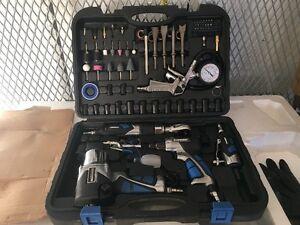 Ensemble outils pneumatiques 100 pièces /piece Air tool set