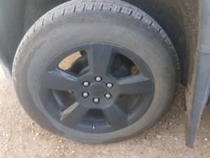 Continental tires (no rims, tires only)