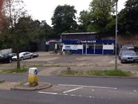 Forecourt To Let CarWash/Car Sales £4000