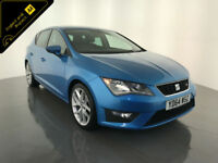 2014 64 SEAT LEON FR TDI 5 DOOR HATCHBACK DIESEL 1 OWNER SERVICE HISTORY FINANCE