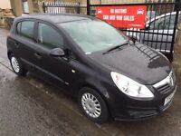 VAUXHALL CORSA 1.0L (07) ** 12000 MILES** 1 OWNER, 1 YEAR MOT , IMMACULATE £2495