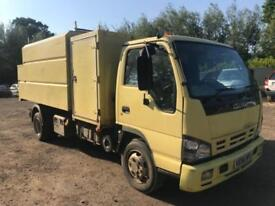 ISUZU NPR 70 TIPPER TREE SURGERY WOODCHIPPER STUMP GRINDER, ARB TRUCK