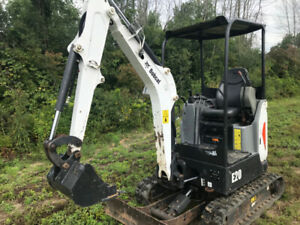2015 BOBCAT E20 , mini ex, excavator, backhoe