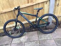 Men's Carrera Vulcan 2016/2017 mountain bike(3 weeks old)