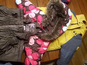 Girls size 1 jackets/ski pant