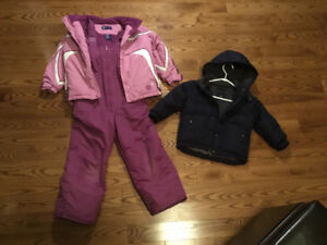 Need a Snowsuit or Warm Down Jacket?