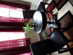 Great Deal!!! Bombay table and high back chairs