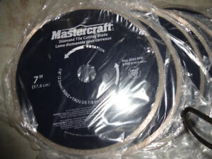 8 SEVEN AND HALF INCH DIAMOND BLADES FOR TILE SAWBRAND NEW BLAD
