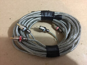 2 sets of Streetwires RCA's